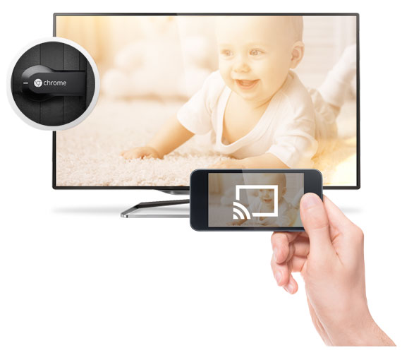 View baby photos with the showfy app on your television