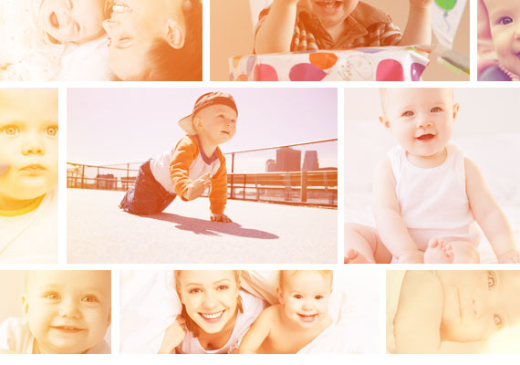Create baby album with the best photos